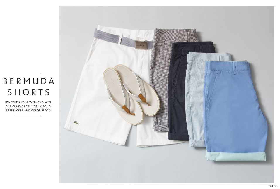 Shop Lacoste: Bermuda Shorts