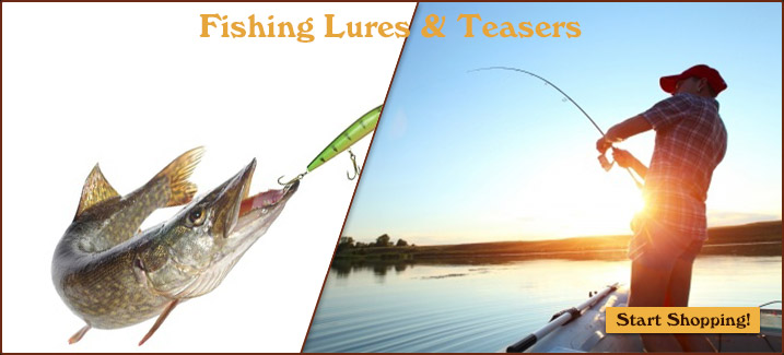 Fishing Lures and Teasers - Start Shopping