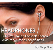 View our wide range of Philips Headphones - Stereo, Full-Size, In-Ear, Earhook and more