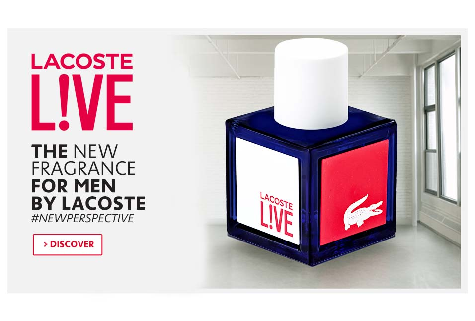 Shop Lacoste L!VE Fragrance