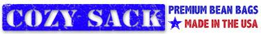 Premium Cozy Sack Bean Bags Logo