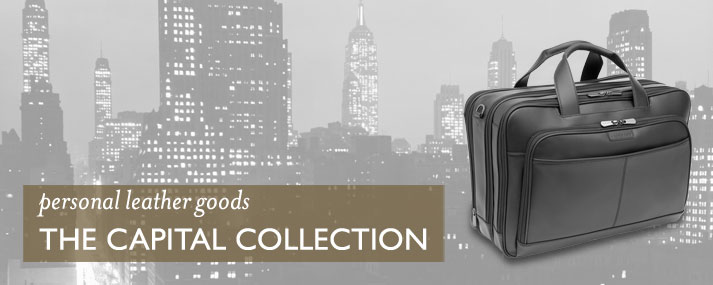 personal leather goods - The Capital Collection