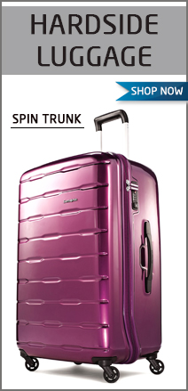 Hardside Luggage. Spin Trunk. Shop Now.
