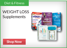 Diet & Fitness - Weight Loss Supplements.  Shop now.