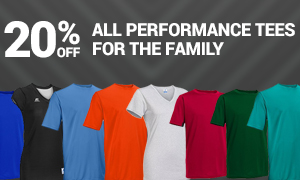 Russell Athletic Performance Tees