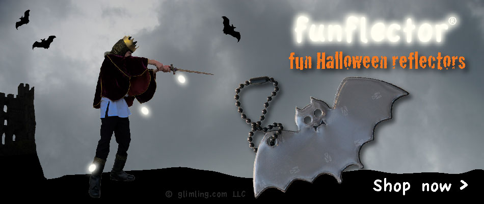 fun halloween safety reflectors for kids, tweens, teens, boys and girls. Click on the image to shop!