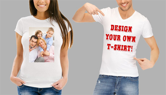 Custom personialize T-shirts & clothing