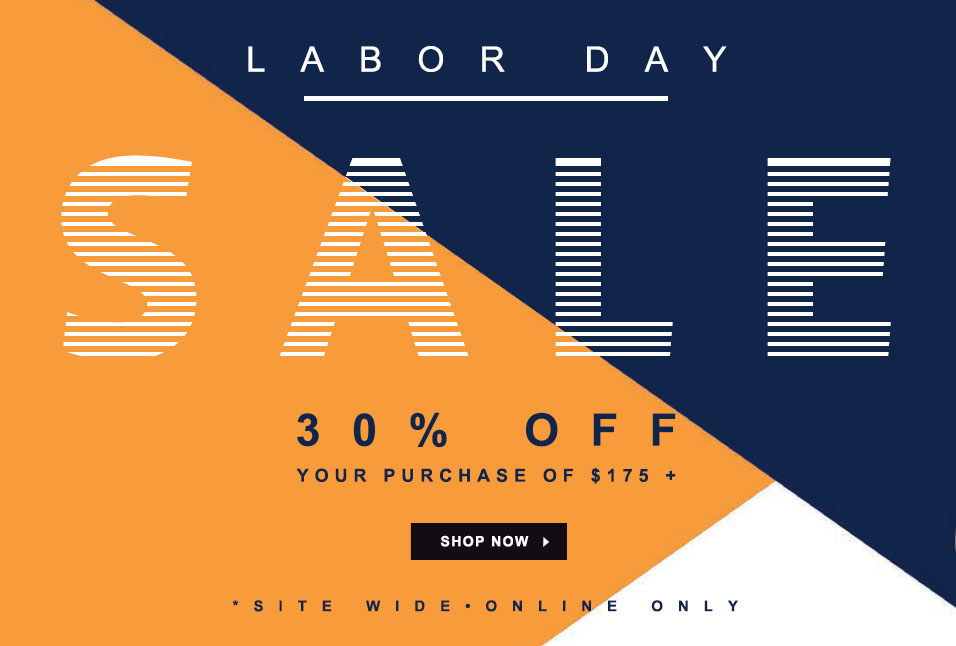 Shop Lacoste Labor Day Sale: Take 30% off your purchase of $175 or More!
