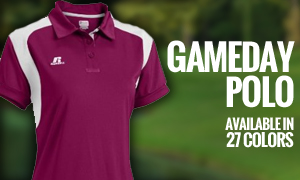Gameday Polo - Available in 27 Colors!