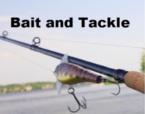 Click to view items for sale in our Bait and Tackle Department