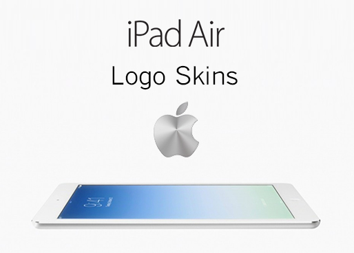iPad Air Decal Sticker Logo Skin Overlays