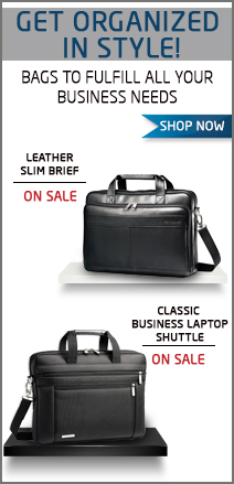 Get Organized In Style! Bags To Fulfill All Your Business Needs. Shop Now.