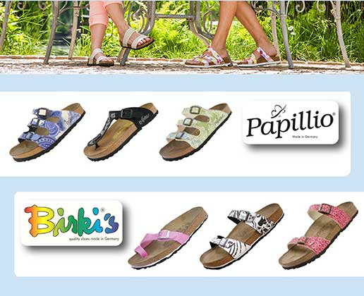 Shop recently added sale Birki's and Papillio Styles