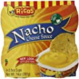 Ricos Products Co. Nacho Cheese Sauce, 1er Pack (4 x 99 g)