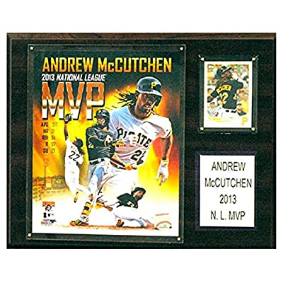 C and I Collectables MLB 15W x 12H in. Andrew McCuthcen Pittsburgh Pirates Player Plaque