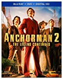 Anchorman 2: The Legend Continues [Blu-ray]