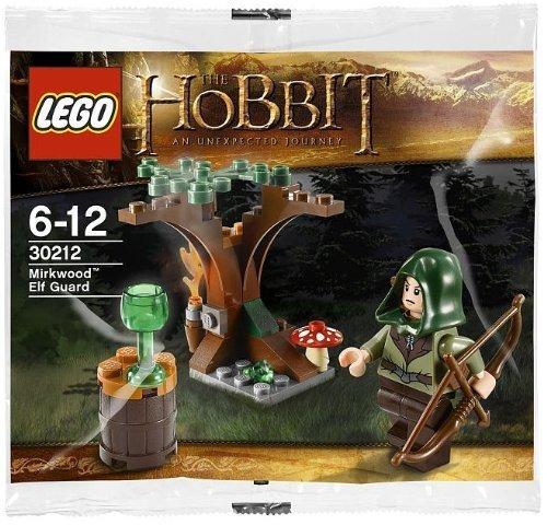 Lego, The Hobbit, Mirkwood Elf Guard Bagged (30212) - 1