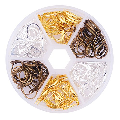 pandahall-1-box-120pcs-mixed-3-colors-15mm-brass-earring-components-lever-back-hoop-earrings-for-jew