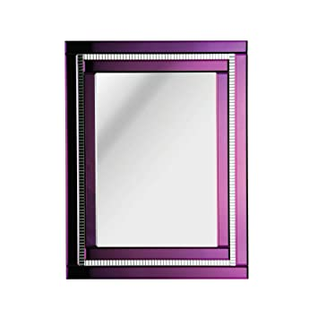 Protege Homeware Purple Deco Mirror