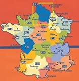 Carte indéchirable Normandie 2014 Michelin
