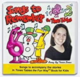img - for Songs to Remember the Times Tables Music CD for use with Times Tables the Fun Way Book for Kids by Tessie Snow (2003-01-01) book / textbook / text book
