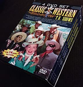 Amazon.com: Classic Western T.V. Shows 4 DVD Set: Movies & TV