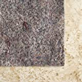 Con-Tact Brand Super Movenot Premium Reversible Felt Rug Pad for Hard Surfaces and Carpet, 8' x 10'