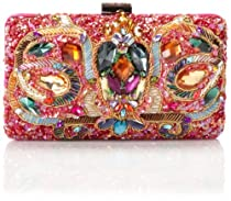 Mary Frances Pretty Hot Evening Bag,Multi,One Size