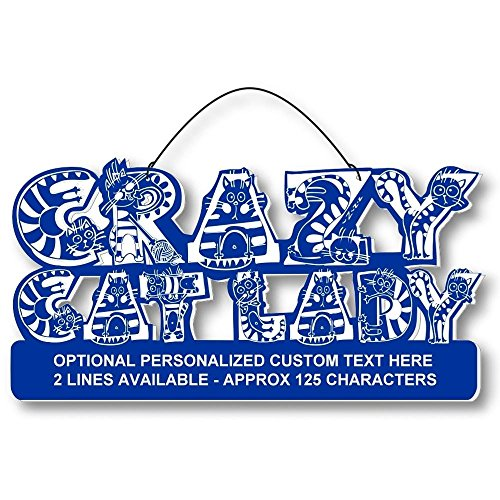 Cool Cats Crazy Alphabet-Cat Laser-Etched 3-In-1 Plaques Ver1 Love Cats Blue front-538847
