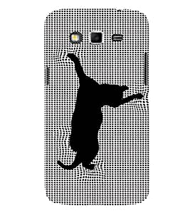 EPICCASE Cat illusions Mobile Back Case Cover For Samsung Galaxy Core Prime (Designer Case)