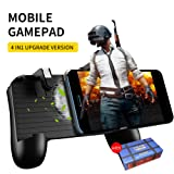 Mobile Game Controller Trigger Phone Cooling Pad Upgrade Version Mobile Gamepad for Android iOS FPS Games /Fortnite Mobile Game/Rules of Survival/Survivor Royale/KnivesOut/ PUBG