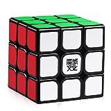 D-FantiX Moyu Aolong V2 3x3 Speed Cube 3x3x3 Magic Cube Puzzle Toy Black (Color: Black)