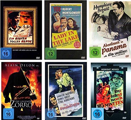 Die Kult Thriller Klassiker Collection (6 Filme auf 6 DVDs)