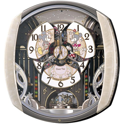 Disney Disneys Time Seiko Japan Radio Wave Wall Clock