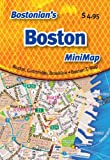 img - for Bostonian's Boston MiniMap book / textbook / text book