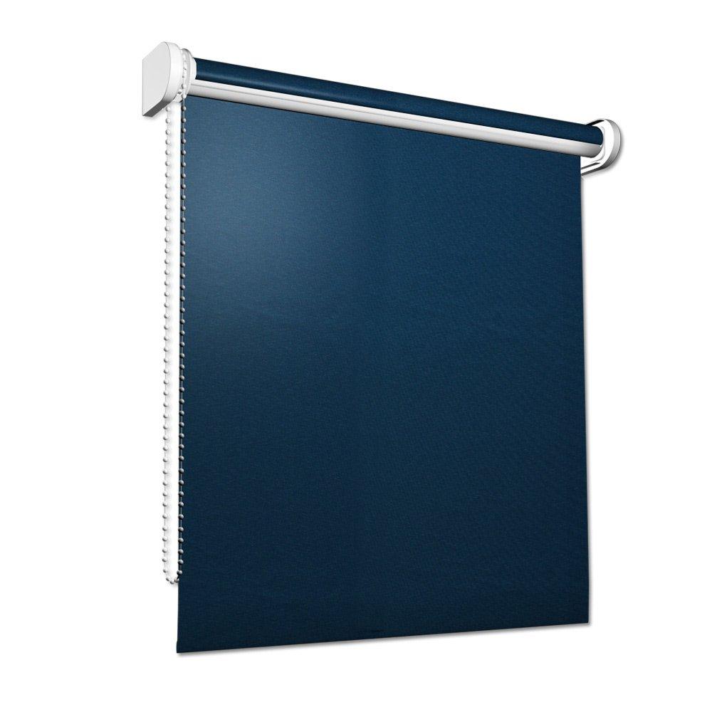 Victoria M - Estor opaco 90 x 175 cm, Azul Oscuro   Más información y revisión del cliente