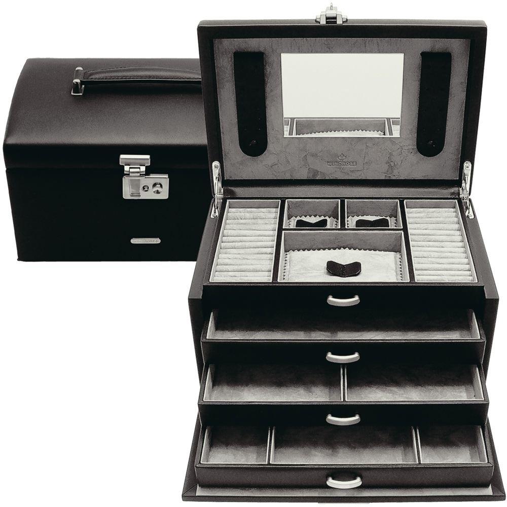 Windrose Vision Schmuckkoffer groß mit 4 Etagen als Weihnachtsgeschenk kaufen