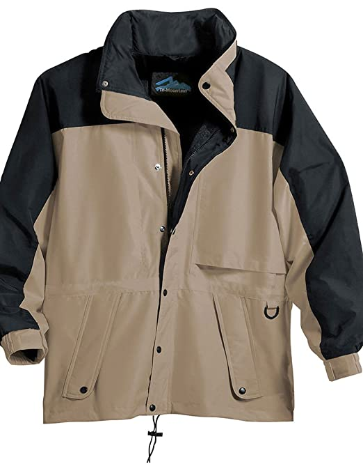 Tri-Mountain Mens Water Resistant Parka