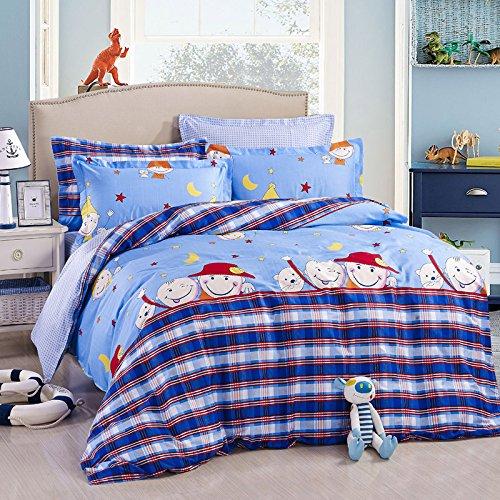 Shining Baby Sky Blue Duvet Cover Set 2014 Modern Bedding front-1005910