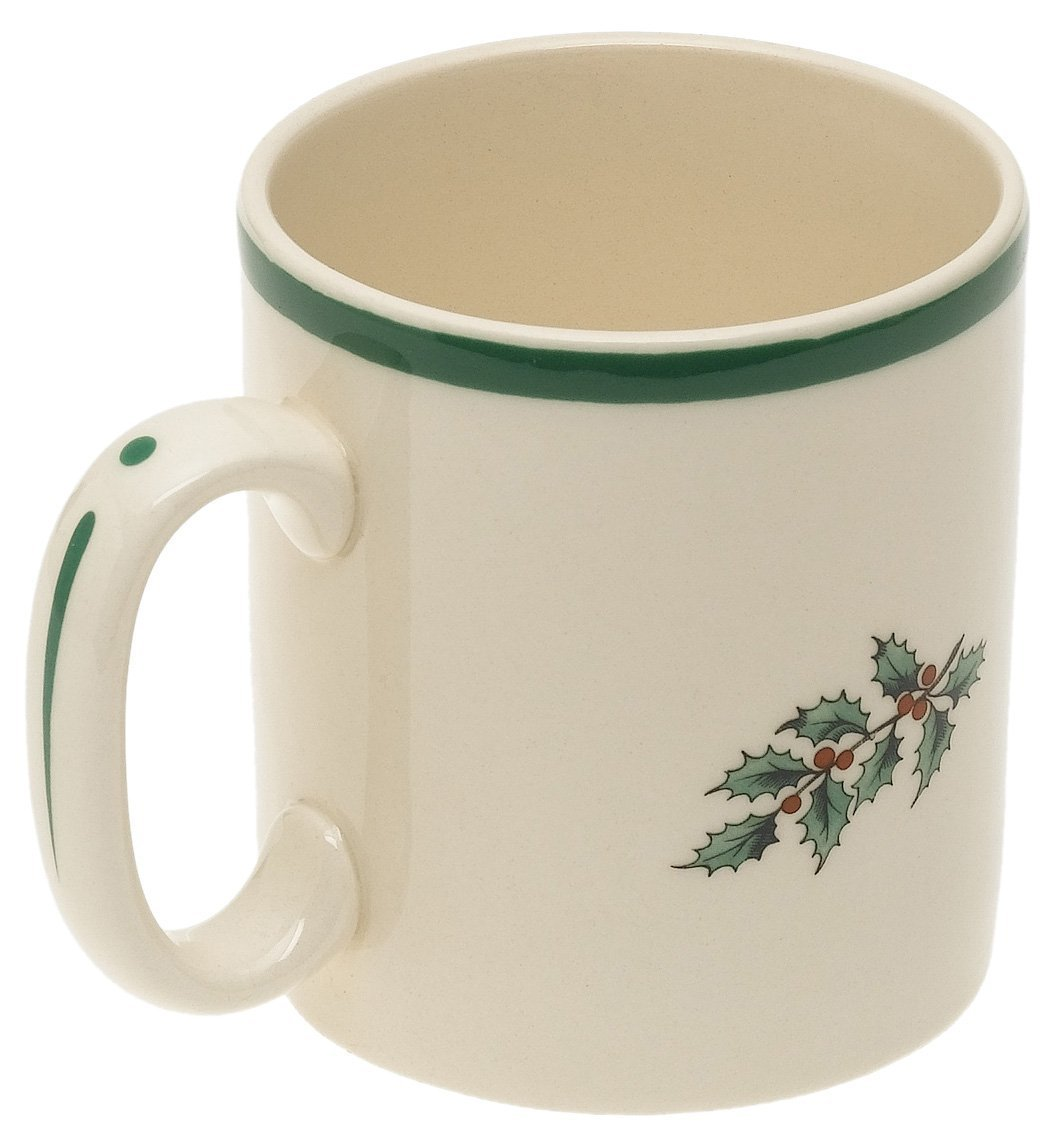 Spode Christmas Tree Mug (Back View)