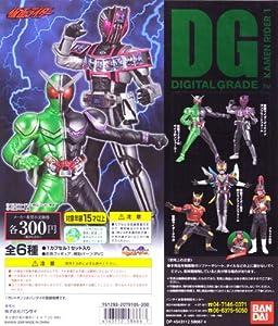 DG Masked Rider action pose Gashapon figure set Part 2