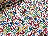 キャラクターキルト  はらぺこあおむし アルファベットABC キルト |生地・布|入園入学|通園通学|キッズ|男の子|