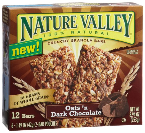 Oats 'n Dark Chocolate Granola Bars
