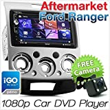 tunez Ford Ranger Mazda BT-50 GPS DVD Player Car Sat Nav Stereo Head Unit Radio ISO Fascia Kit