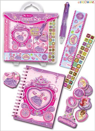 Pecoware Princess Rose Slippers My Special Journal Kit
