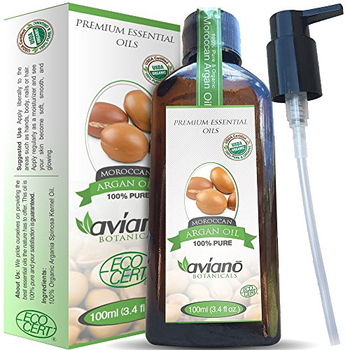 Avan-Botanicals-Argan-Oil-100-Pure-USDA-Certified-ORGANIC-Moroccan-Argan-Oil-Large-100ml-Bottle