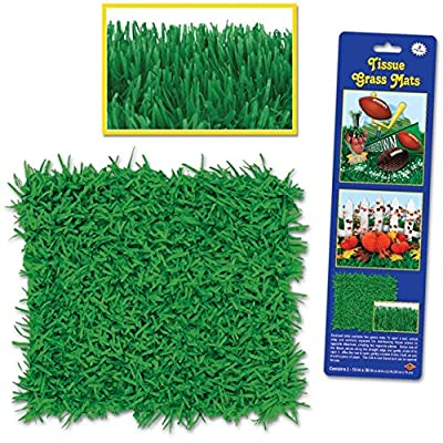 Pkgd Tissue Grass Mats 15in. x 30in., 2/Pkg by PMU