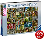 Ravensburger Puzzles the Bizarre Bookshop, Multi Color (1000 Pieces)
