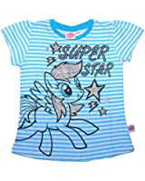 Official My Little Pony Short Sleeve Girls T-Shirt Top Tee