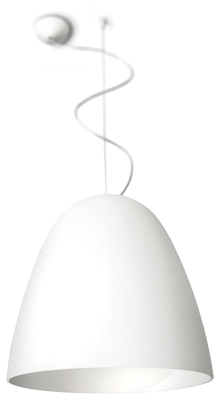 Philips myLiving Glad Energiespar- Pendelleuchte mit 20W, inklusive Leuchtmittel, 1-flammig, Weiß, 403993116